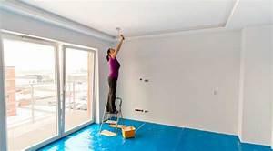 Enduire Un Plafond Au Rouleau : comment peindre un plafond gallery of elegant comment peindre un plafond facilement peindre le ~ Farleysfitness.com Idées de Décoration