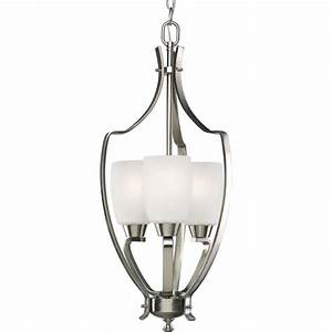 Progress lighting wisten collection light brushed nickel