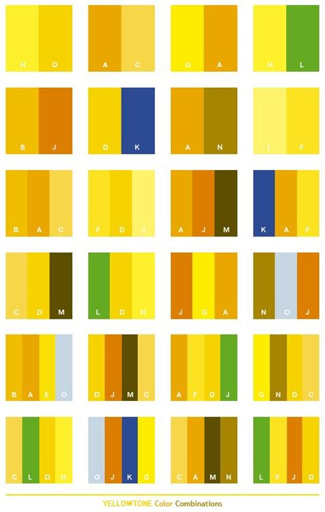 Best 25+ Yellow Color Schemes Ideas On Pinterest Yellow