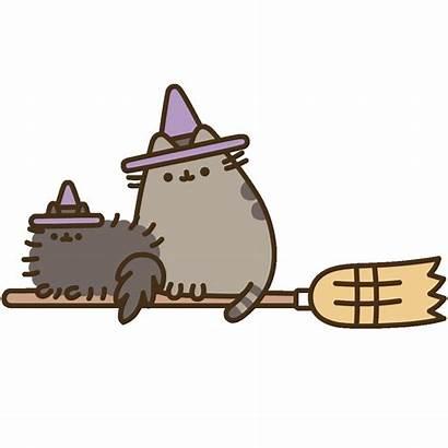 Pusheen Halloween Cat Kawaii Potter Harry Sticker