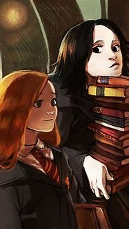 Lily and Severus   Harry potter illustrations, Snape harry ...