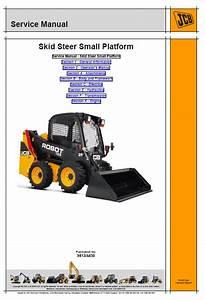 Jcb 135  T3  Skid Steer Loader Robot Service Manual