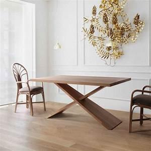 Table Salle A Manger Design : table en bois massif design brin d 39 ouest ~ Teatrodelosmanantiales.com Idées de Décoration