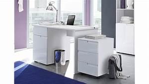 Schreibtisch Weiß 120 Cm : schreibtisch spice in mdf wei hochglanz 120 cm ~ Whattoseeinmadrid.com Haus und Dekorationen