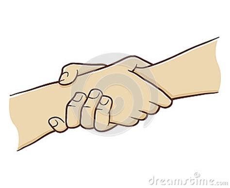 hand holding    strong grip stock vector