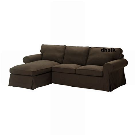 ikea chaise lounge cover ikea ektorp loveseat with chaise cover slipcover svanby