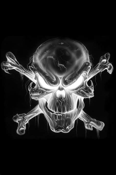 jolly roger dem bones skull skull wallpaper skull