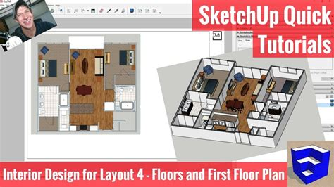 SketchUp Interior Design for Layout 4 Creating Our First