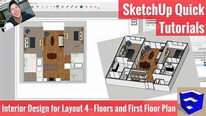 Creating Our First Floor Plan In Layout - Sketchup Apartment Interior Design Modeling 4