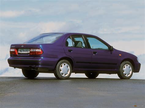 Photos of Nissan Almera Sedan (N15) 1998–2000 (1600x1200)