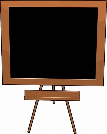 Blackboard Chalkboard Clip Clipart Blackboards Cliparts Clipartix