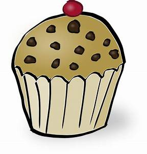 Chocolate Chip Muffin Clip Art at Clker.com - vector clip ...