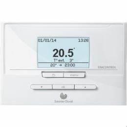 Thermostat Connecté Chaudière Gaz : accessoires chaudi re gaz thermostat d 39 ambiance programmable exacontrol e7 c ~ Melissatoandfro.com Idées de Décoration