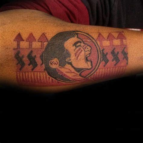 tattoos fsu florida state university forearm pride tweet
