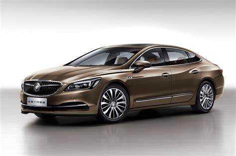 8 things you didn t know about the chinese spec 2017 buick lacrosse motor trend