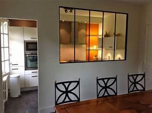 Petite Verrière Intérieure : une verri re dans la cuisine ou la cuisine dans une ~ Zukunftsfamilie.com Idées de Décoration