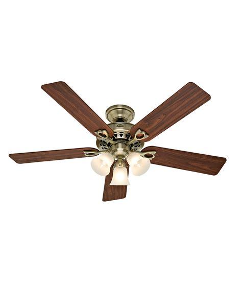 hunter fan ceiling fan light kit hunter fan 21433 sontera 52 inch ceiling fan with light
