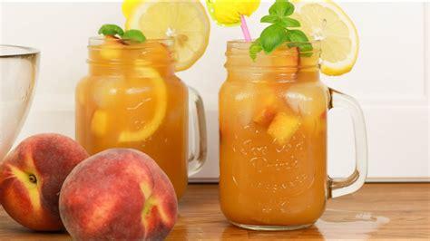 thymiantee selber machen bestes eistee pfirsich rezept eis pfirsich selber machen machen