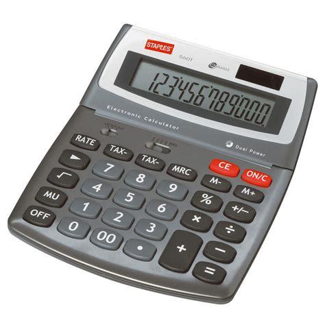 calculatrice bureau staples calculatrice de bureau staples 560 12 chiffres