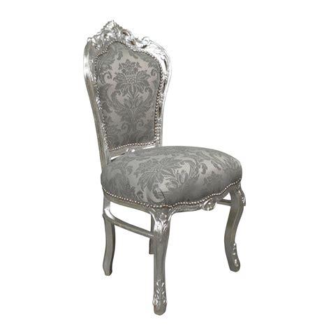 chaises grise chaise baroque galerie photo des chaises