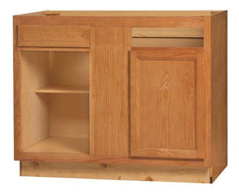 kitchen kompact chadwood 42bc oak blind corner base cabinet at menards 174