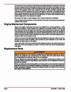 Mercury Mercruiser Gm V8 Gm V8 454 Cid 7 4l And 502 Cid 8