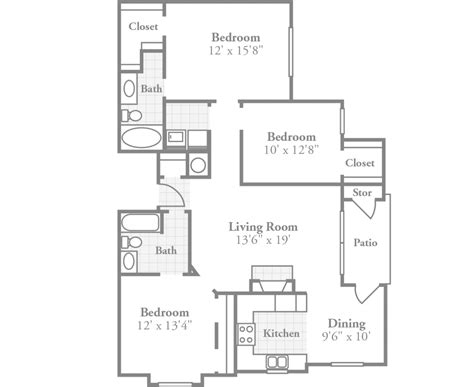3 Bedroom Apartments In Ky by Ambassador Style Apartment Crowne At The Summit Stylish