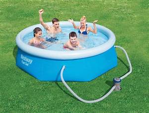 Garten Pool Bestway : bestway set quick up pool fast set mit filterpumpe xh 244x66 cm online kaufen otto ~ Frokenaadalensverden.com Haus und Dekorationen