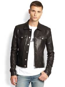Black Man in a Leather Jacket