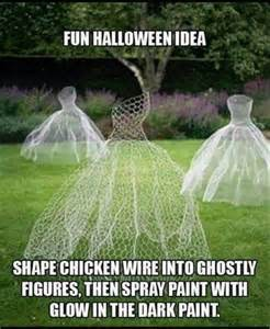 Glow In The Dark Spray Paint Pumpkins by 40 Easy To Make Diy Halloween Decor Ideas Diy Amp Crafts