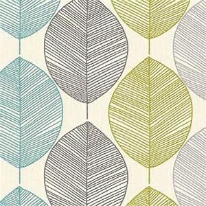 Arthouse Opera Retro Leaf Wallpaper