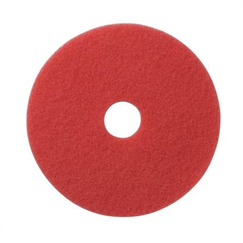americo 18 quot red buffing floor pads pack of 5
