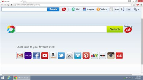 How To Remove The Ask.com Toolbar From Google Chrome