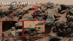 WTF a lizard Face? Planet Mars - YouTube