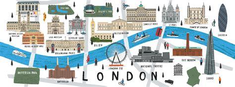 map  london uk  alex foster  draw travel