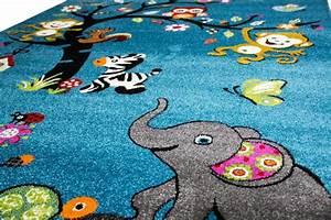 Teppich Braun Türkis : teppich traum kinderteppich spielteppich babyteppich zootiere kinderzimmerteppich t rkis ~ Frokenaadalensverden.com Haus und Dekorationen