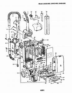 Hoover Windtunnel Upright Vacuum Parts
