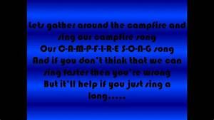 Spongebob Campfire Song Lyrics Youtube