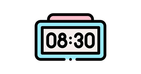 00 september 19, 2012, initial release alarmclock this font was created using fontcreator 6. Digital alarm clock - Free miscellaneous icons