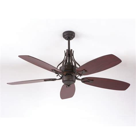 home decor ceiling fans yosemite home decor 52 in rubbed bronze ceiling fan