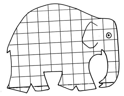 elmar elefant ausmalbild elefant ausmalbild elmar