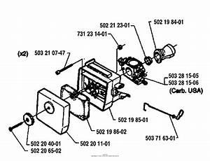 Husqvarna 240 Rbd  1995 Carburetor