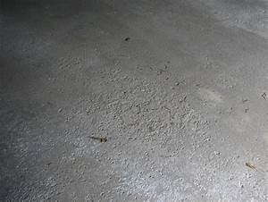 Easily repair your pitted or spalled garage floor all for Cement floor repair in garage
