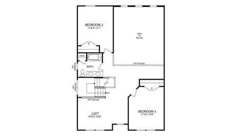 Maronda Homes Hton Floor Plan by New Home Floorplan Pine Township Pa In Alderwood
