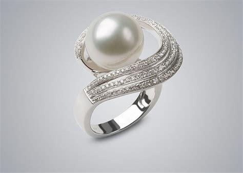 24+ Pearl Wedding Ring Designs, Trends, Models