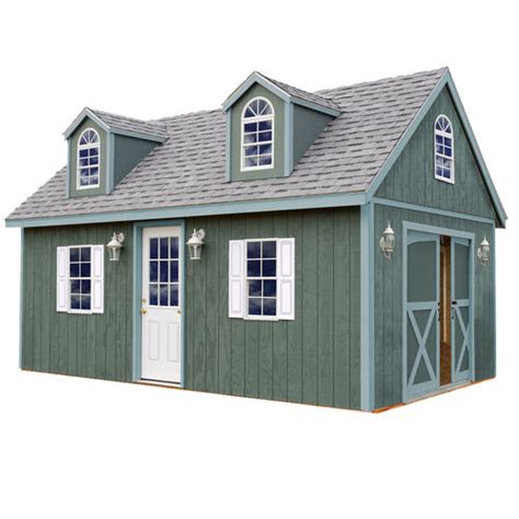 Menards Wood Storage Shed Kits by Best Barns Arlington 12 X 16 Shed Kit Without Floor At