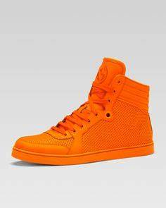 Gucci Neon Sneakers FASHION & STYLE Pinterest