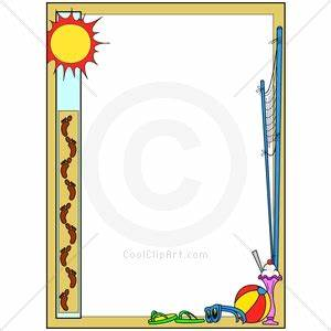Summertime Border Clipart - Clipart Suggest