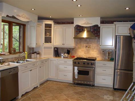 painting wood kitchen cabinets kitchen painted wood kitchen cabinets with tile floor