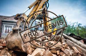 Cout Demolition Maison : prix pour la d molition de maison et exemple de devis ~ Melissatoandfro.com Idées de Décoration